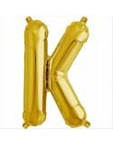Balon folie litera K -Auriu