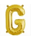 Balon folie litera G -Auriu
