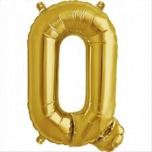 Balon folie litera Q -Auriu