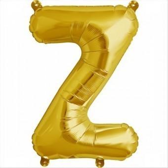Balon folie litera Z -Auriu