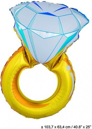 Foil balloons figurine ring 103 cm X 64 cm