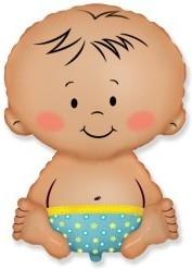Baloane folie figurina Baby Blue 67cmX46cm
