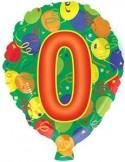 Foil balloons 45 cm 0