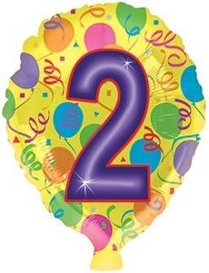 Foil balloons 45 cm figure 2