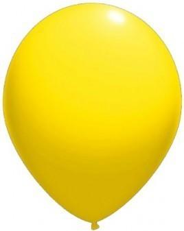 Baloane latex standard 26 cm galben