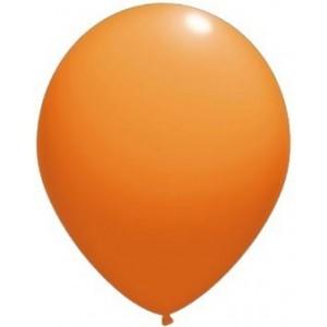 Latex balloons standard 26 cm orange