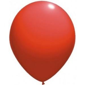 Latex balloons standard 26 cm red