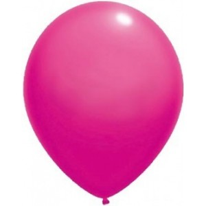 Baloane latex standard 26 cm roz