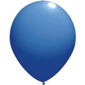 Latex balloons standard 26 cm blue