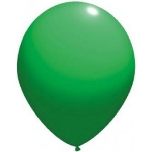 Latex balloons standard 26 cm green