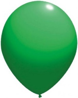 Latex balloons standard 26 cm green