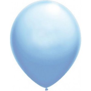 Baloane latex standard 26 cm albastru luminos