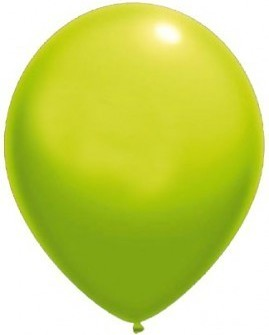 Baloane latex standard 26 cm verde deschis