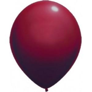 Latex balloons standard 30 cm burgundy