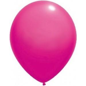 Baloane latex standard 13 cm roz