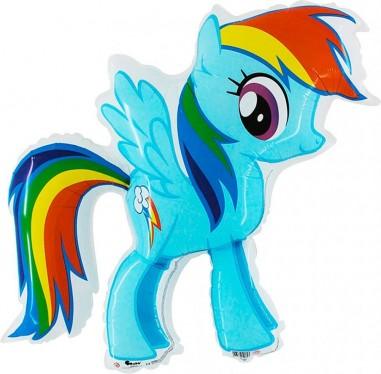 Baloane Figurine My Little Pony DASH 70cmx80cm
