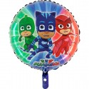 Foil balloons 45 cm heroes in pyjamas