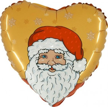 Foil balloons 45 cm Santa