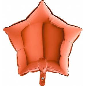 Baloane folie 45 cm SIMPLE STEA ORANGE