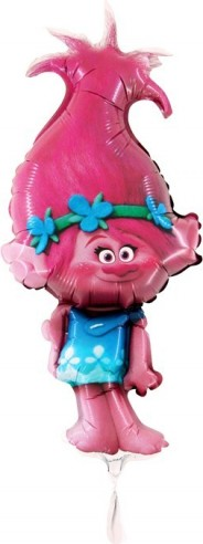 baloane mini figurina trolls 30 cm