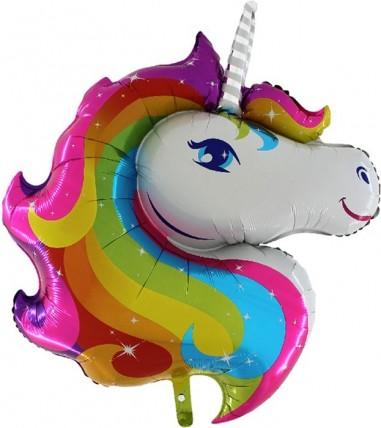Foil balloons figurine Unicorn 90cmx75cm