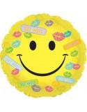 Baloane folie 45 cm Happy Face Get Well