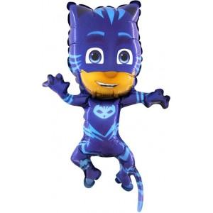 baloane minifigurina eroi in pijamale PISOI 30 CM