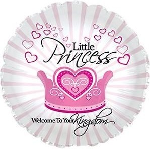 Baloane folie 45 cm Little Princess