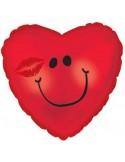 Baloane folie 45 cm Smiley face kissy