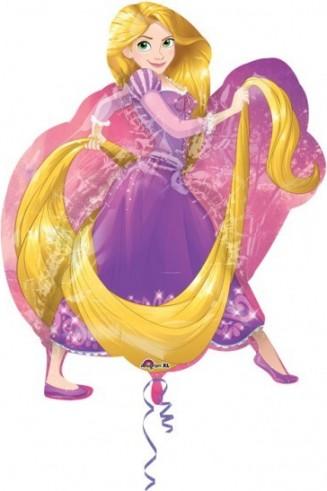 "Baloane figurina SuperShape ""Rapunzel"" 66x78cm"
