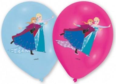"6 Latex Balloons Frozen 27.5 cm/11"""