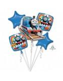 "Buchet ""Thomas the Tank Engine"" 5 Foil Balloons , P75, packed"