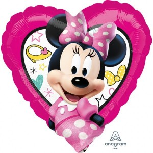 "Foil balloons, 45 cm ""Minnie Happy Helpers"""