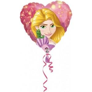 "Baloane folie 45 cm ""Rapunzel Heart"""