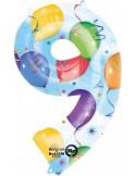 Balon cifra 9