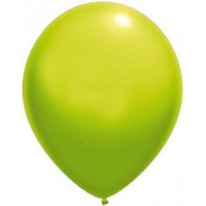 BALLOONS LATEX-STANDARD 13 CM LIGHT GREEN