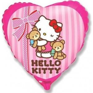 Foil balloons 45 cm Hello Kitty Best Friends