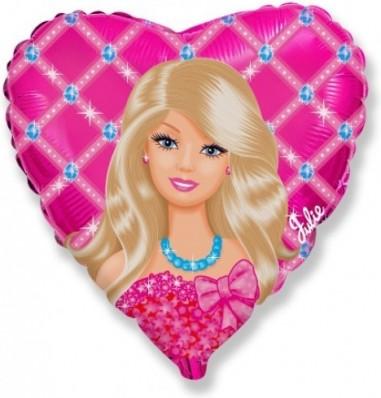 Foil balloons 45 cm Cor Julie