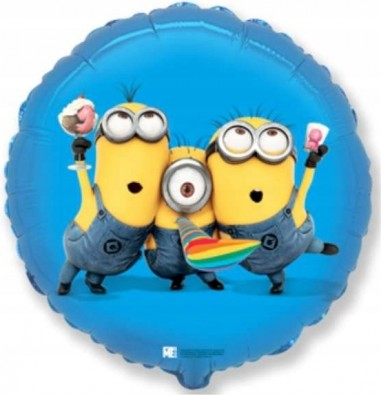 Foil balloons 45 cm RD Minions Party