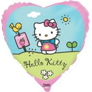 Baloane folie 45 cm Hello Kitty Garden