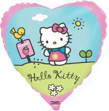 Foil balloons 45 cm Hello Kitty Garden