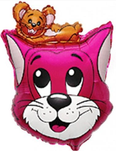 Baloane Figurine Cat/Mouse 47cmx70cm