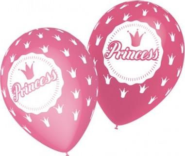 Baloane latex 28 cm Princess roz