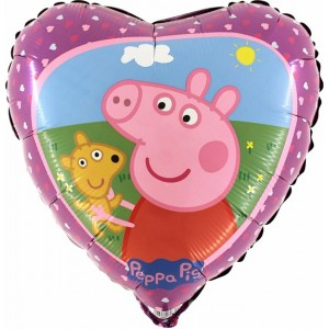 BALOANE FOLIE 45 CM Peppa-Pig