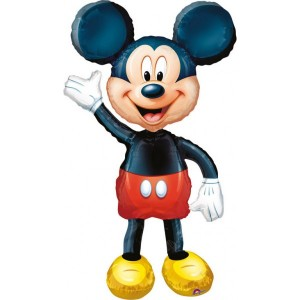 "Baloane figurina AirWalkers ""Mickey"" 96cmX132cm"