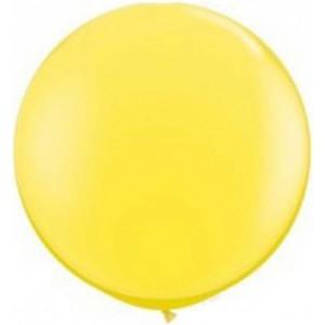 Baloane latex jumbo 91 cm galben
