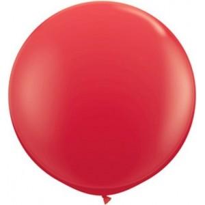 Baloane latex jumbo 91 cm rosu