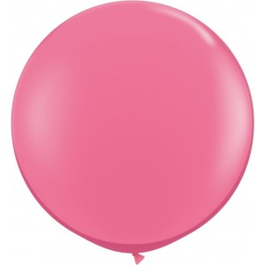 Baloane latex jumbo 91 cm roz