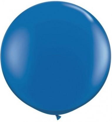 Baloane latex jumbo 91 cm albastru