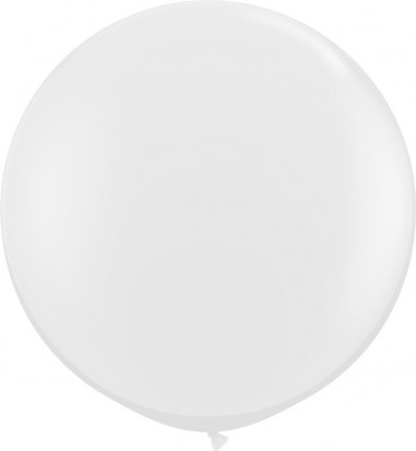 Baloane latex jumbo 91 cm transparent